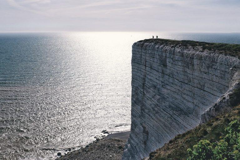Beachy Head and drive along White Cliffs, Brighton, Royal Pavilion tour and Brighton Palace Pier